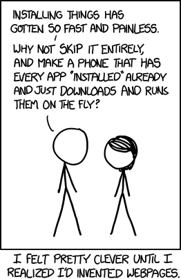 xkcd - Content, Commerce Deep Links