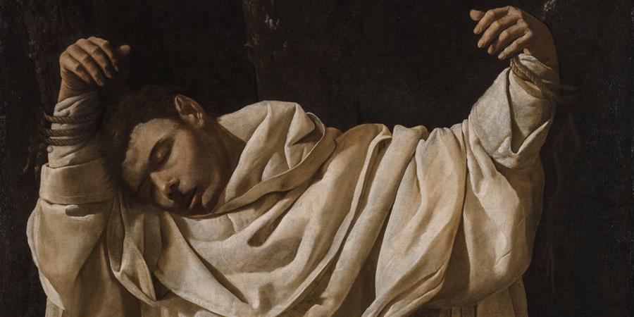 Image credit: Saint Serapius (detail), Francisco de Zurbarán, 1628, Wadsworth Atheneum Museum of Art, Hartford, Connecticut.