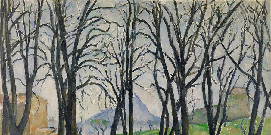 Image credit: Chestnut Trees at Jas de Bouffan (detail), Paul Cézanne, 1880/1891. Minnesota Institute of Art, Minneapolis, Minnesota.