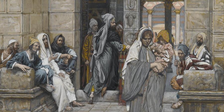 Image credit: Le Denier de la Veuve (The Widow's Mite) (detail), James Tissot, between 1886 and 1894, Brooklyn Museum, Brooklyn, New York.