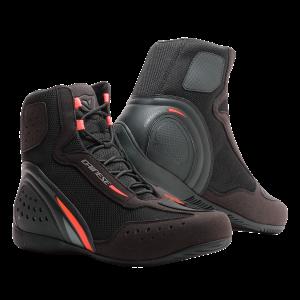 Motorshoe D1 D-WP Black:FluoRed:Anthracite