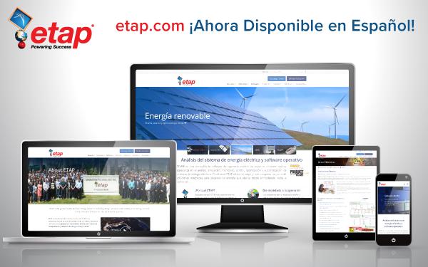 etap.com/es - ¡Nuevo sitio web en Español!