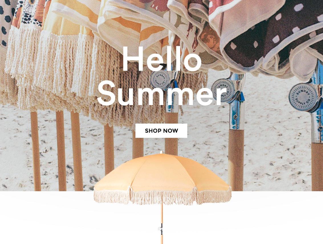Hello Summer 2017 | Sunday Supply Co.