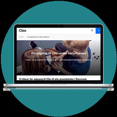 CLIO: Gratis adgang til undervisningsmateriale