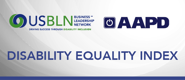 USBLN/AAPD Disability Equality Index