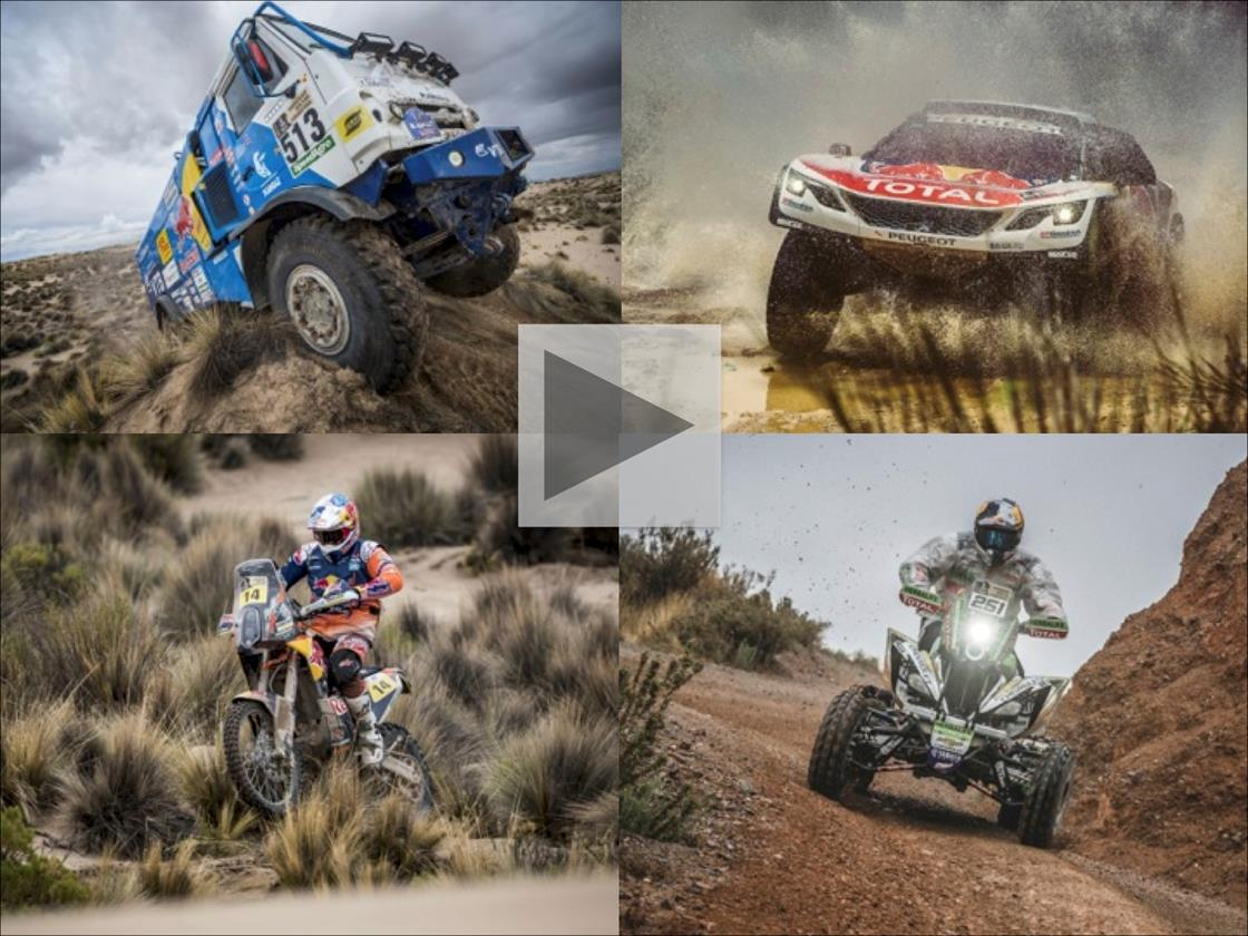 The big contenders at the Dakar are ready for a race to the line © Marcelo Maragni/Flavien Duhamel/Red Bull Content Pool