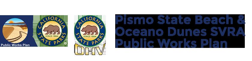 Pismo State Beach and Oceano Dunes SVRA Public Works Plan