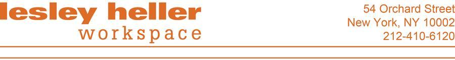 Lesley Heller Workspace logo