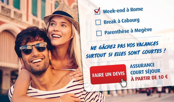 Ne gâchez pas vos vacances même si elle sont courtes : assurez vos longs week-ends avec Europ Assistance !