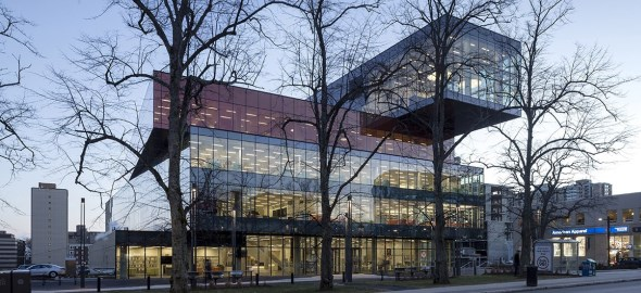 Halifax Central Library | La bibliothèque centrale d'Halifax