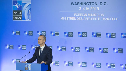 NATO marks 70th anniversary with Washington meeting of Foreign Ministers