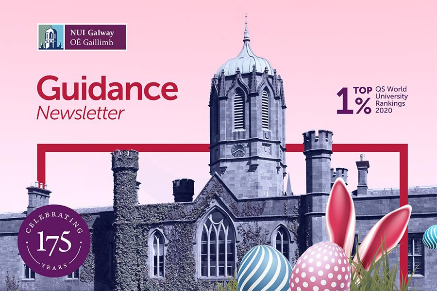 An alternate view of the NUI Galway logo