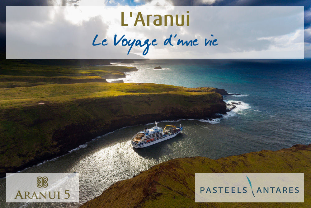 L'Aranui... les îles Marquises...