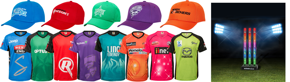 Big Bash Merchandise & Supporter Clothing - CLICK HERE!!