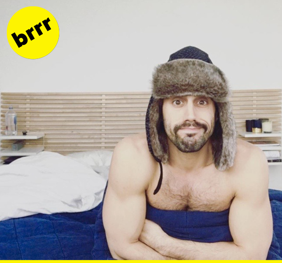 You're better safe than sorry when it comes to snow days, and Reza is really doing it right.