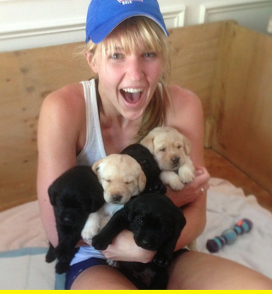 Puppy party.