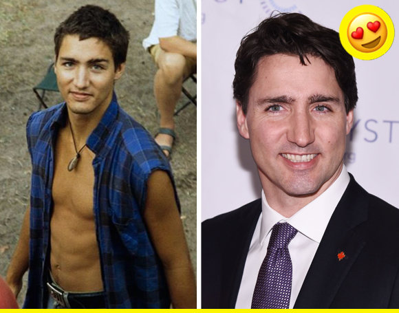 Yep, somebody dug up vintage pics of another hot young politician, and we can't stop drooling.