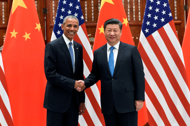 Obama and Chinese President Xi Jinping.