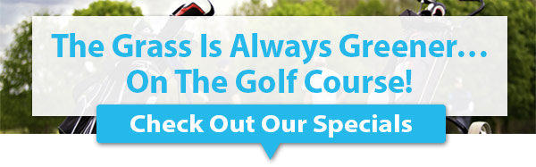 The Grass Is Always Greener... On The Golf Course!