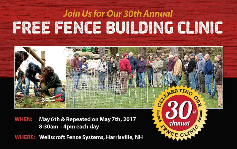 Wellscroft Fence Clinic