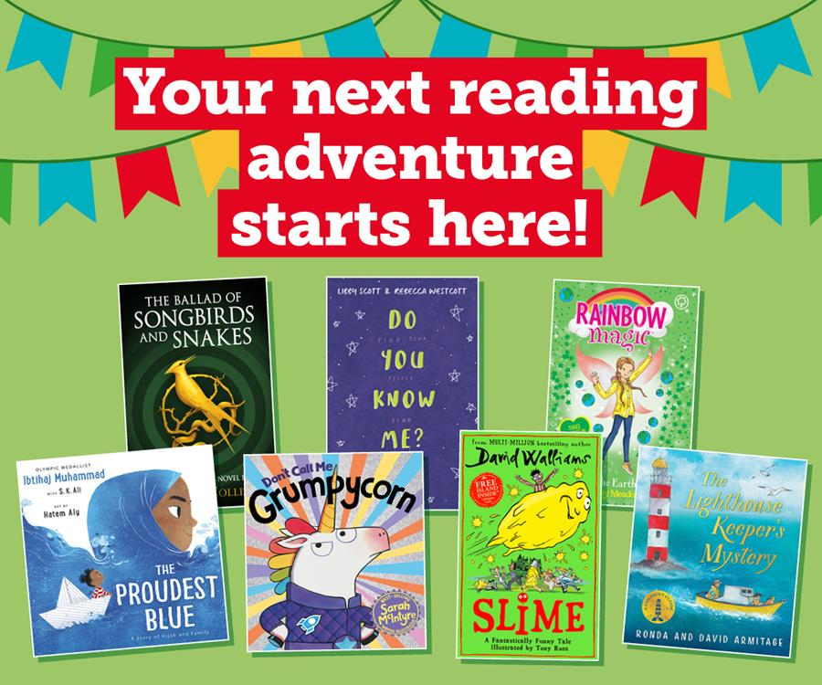 Your next reading adventure starts here!