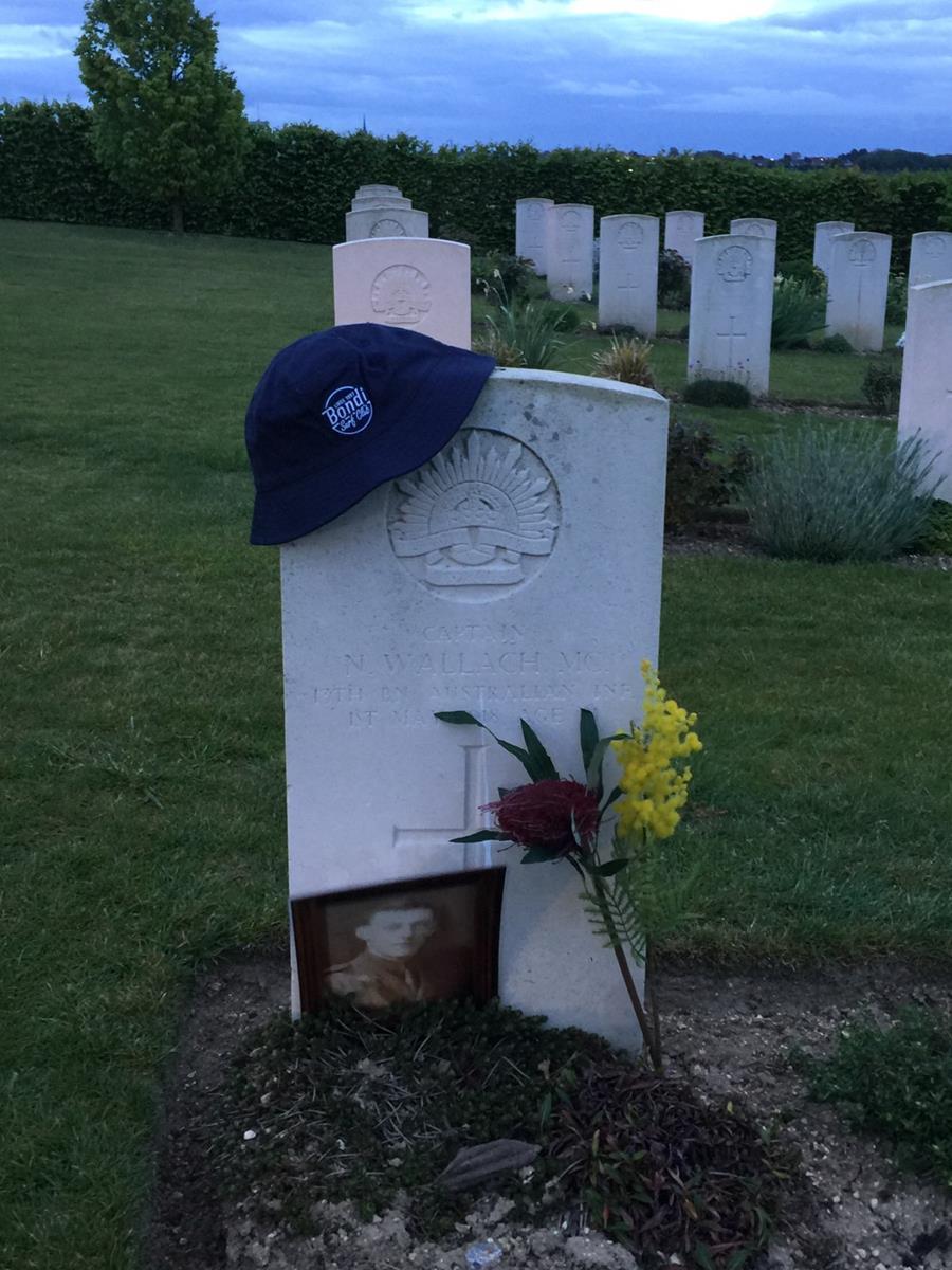 Neville Wallach, Bondi lifesaver and WWI veteran